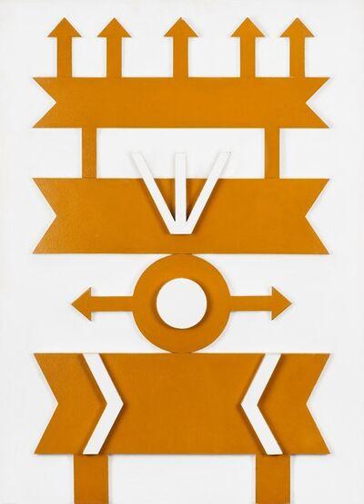 Rubem Valentim, 'Emblema Relêvo 3', ca. 1967
