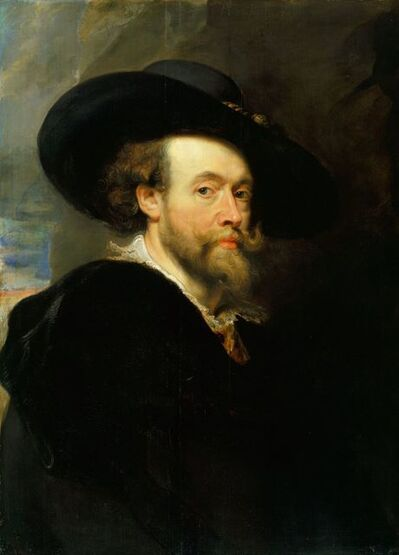 Peter Paul Rubens, 'A self-portrait', 1623