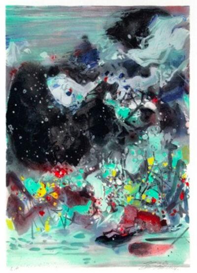 Chu Teh-Chun, 'Encre Orageuse (Stormy Ink)', 2008