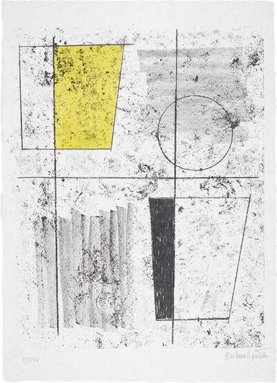 Barbara Hepworth, 'Three Forms Assembling, from Europäische Graphik VI', 1968