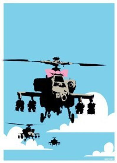 Banksy, 'Happy Choppers (Unsigned)', 2004