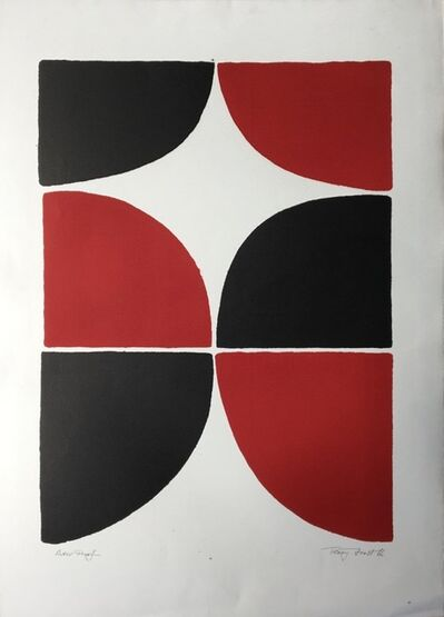 Sir Terry Frost, 'Red and Black Solid / Artist Proof', 1966