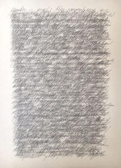 Andrea Wolfensberger, 'Tagebuchaufzeichnungen', 2017