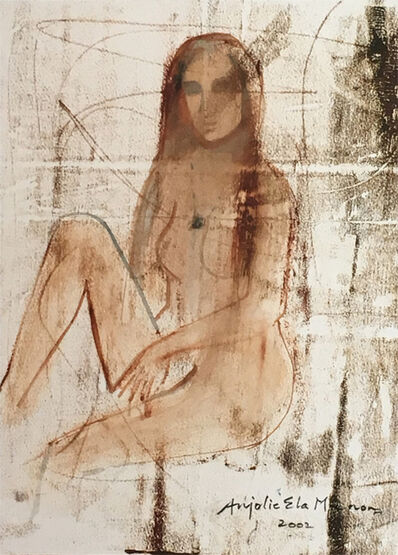 Anjolie Ela Menon, 'Untitled Drawing 4', 2002