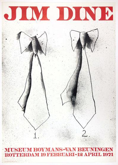 Jim Dine, 'Boymans Museum (Two Ties)', 1971
