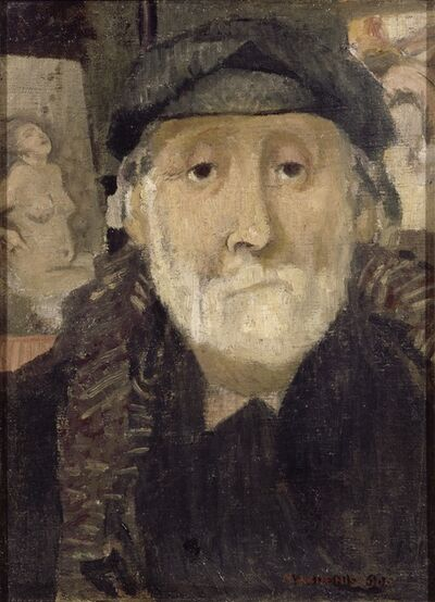 Maurice Denis, 'Portrait of the Painter Degas', 1906