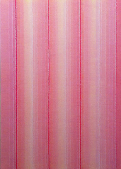 Karl Wiebke, 'Vertical Stripes Sixteen', 2014