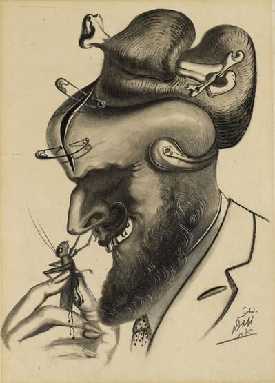 Salvador Dalí, 'Dessin pour American Weekly', 1935
