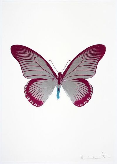 Damien Hirst, 'The Souls IV - Silver Gloss - Fuchsia Pink - Topaz', 2010