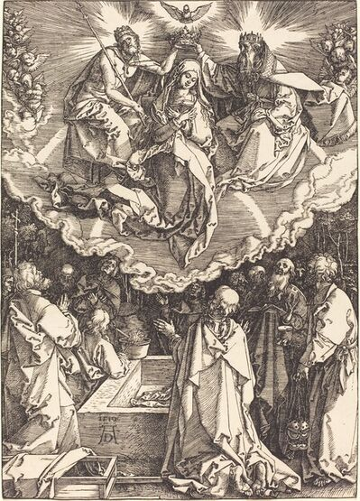 Albrecht Dürer, 'The Assumption and Coronation of the Virgin', 1510