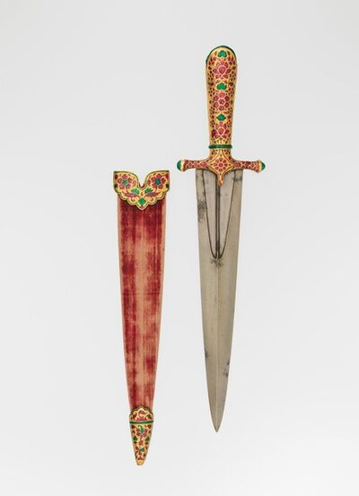 Unknown Indian, 'Dagger with Scabbard', 1605–1627