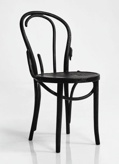 "Maarten Baas, 'A Unique ""Where There's Smoke"" Thonet Chair', 2004"