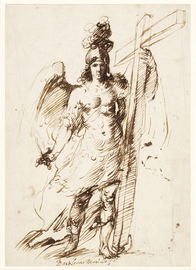 Bartolomé Esteban Murillo, 'The Archangel Michael', 1655-1660