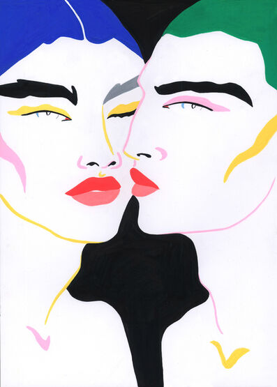 Lynnie Z, 'TWO LOVERS', 2016