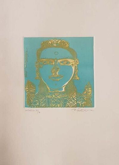 """Laxma Goud, 'Untitled, Etching on Paper by Modern Artist """"In Stock""""', 2017"""