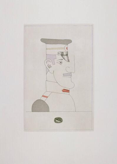 Saul Steinberg, 'Gogol IV', 1984