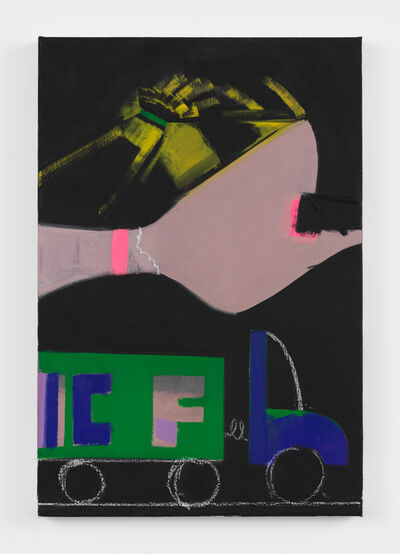 Ellen Berkenblit, 'Green and Blue Truck', 2018
