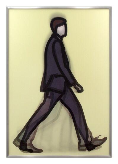 Julian Opie, 'Professional Series 1 - Banker', 2014