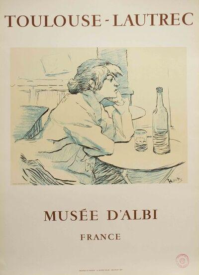 Henri de Toulouse-Lautrec, 'Musee D'Albi Poster', 1967