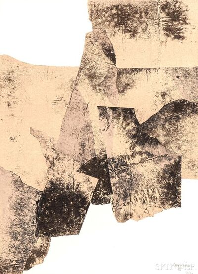 Eduardo Chillida, 'Galerie Maeght, Affiche No. 73', 1961