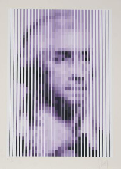 Jean-Pierre Vasarely, 'George Washington', ca. 1979