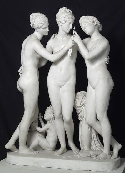 Bertel Thorvaldsen, 'The Three Graces', 1842