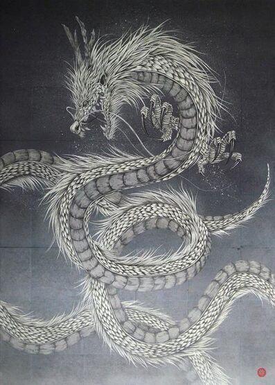 Takashi Kanazawa, 'White Gold Dragon ', 2018