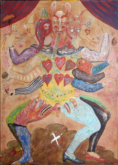 Alejandro Colunga, 'Many-Headed Man', 1979