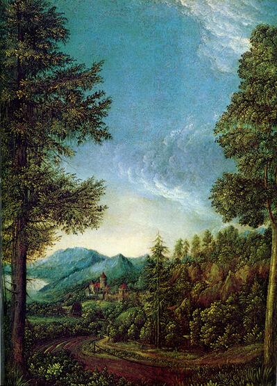 Albrecht Altdorfer, 'Danube Landscape', ca. 1525