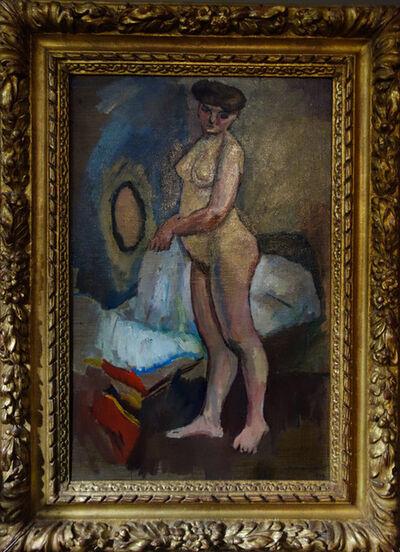 Jules Pascin, 'Nu Debout', 1909