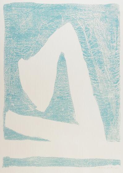 Robert Motherwell, 'Summertime in Italy (Blue)', 1966