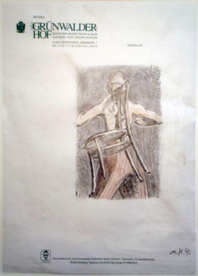 Martin Kippenberger, 'Hotel Drawing (Hotel Guenwalder Hof)', 1993
