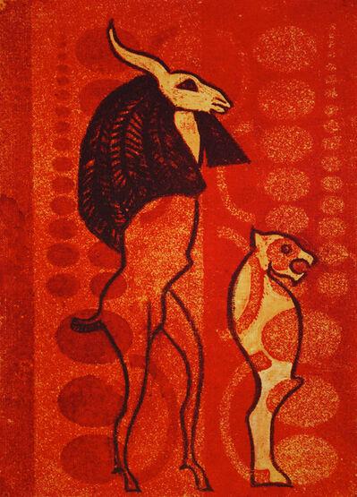 Max Ernst, 'Untitled (Mythological Figures)', 1972