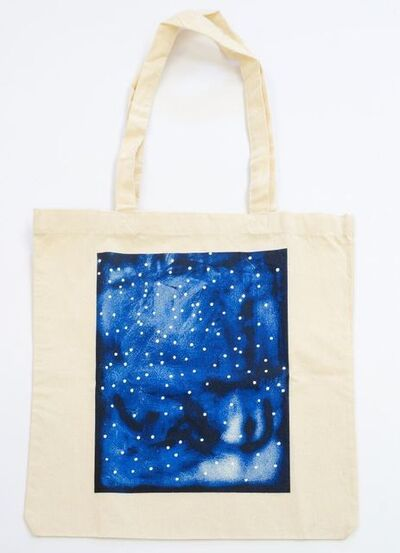 Lucien Smith, 'Blue (limited edition tote bag)', 2010