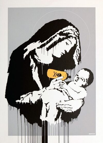 Banksy, 'Toxic Mary (Signed) ', 2004