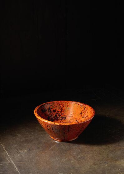 Unknown Japanese, 'A crafted lacquer bowl, tsukuri kanshitsu bachi', Japan: 20th century