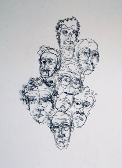joseph janson, '7 Heads', 2019