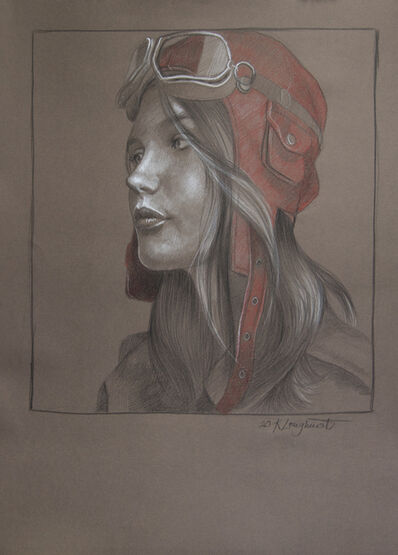 Kathrin Longhurst, 'Pilot Girl 25', 2020