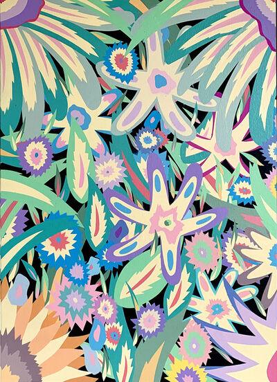 Michael Callas, 'Pastel Flowers II', 2020