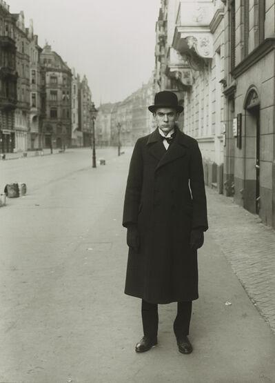 August Sander, 'Maler(AntonRäderscheidt)', 1926