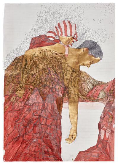 Pamela Phatsimo Sunstrum, 'Figure Study IV (Axis)', 2015