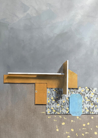 Jenny Brillhart, 'Voysey With Substrate', 2021