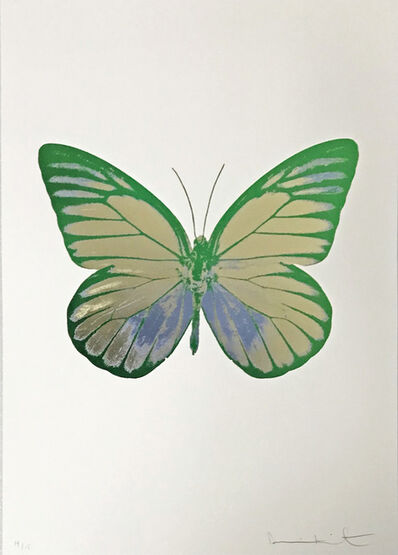 Damien Hirst, 'The Souls I, Coolgold-Cornflowerblue-Emeraldgreen', 2010