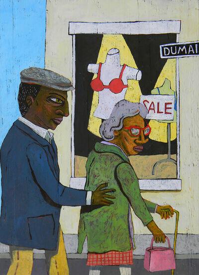 David Lambert, 'Crossing Dumaine', 2019