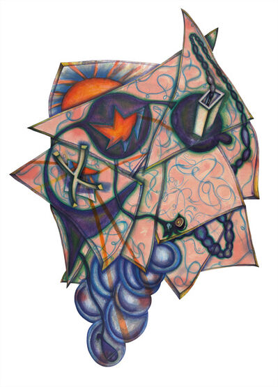 Elizabeth Murray, 'Shack', 1994