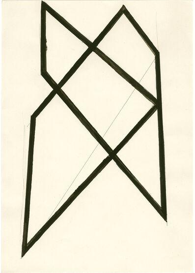 Helmut Federle, 'Haus Struktur', 1985