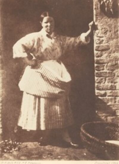 Hill & Adamson, 'A Newhaven Fisherwoman', 1844