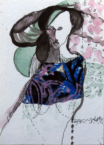Jehad Al Ameri, 'Fading Pink', 2017