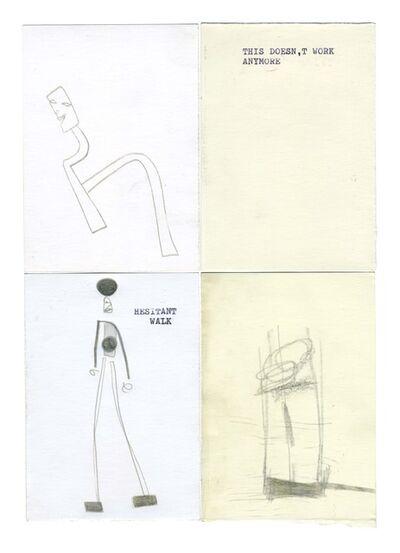 Daniel Blumberg, 'μg, hesitant walk', 2019