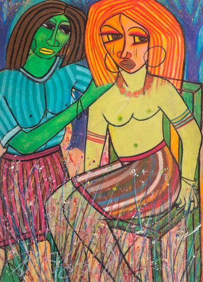 Charles Sekano, 'Making Her Hair', 2009-10